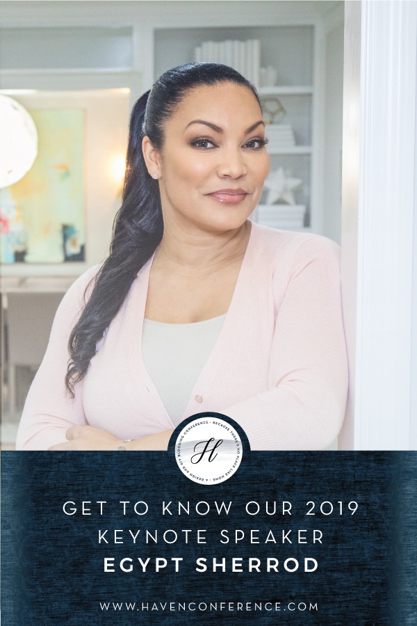 Introducing the HAVEN 2019 Keynote, Egypt Sherrod - Haven